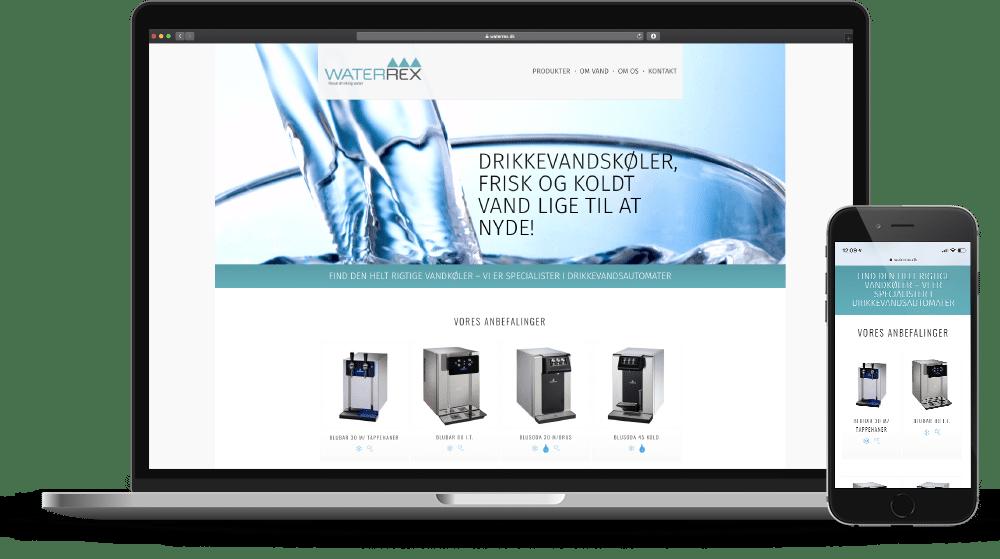Waterrex Webshop Case SideWalk