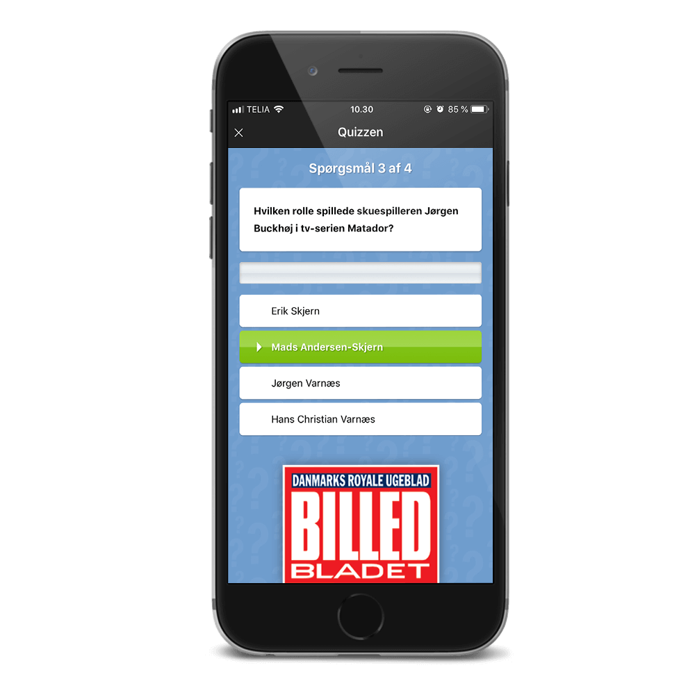 BILLED-BLADET-Quiz App
