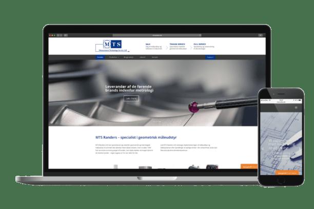 MTS Randers Hjemmeside Case SideWalk