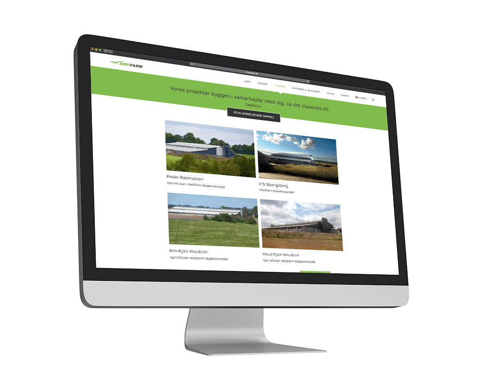 Agrifarm Hjemmeside Case SideWalk