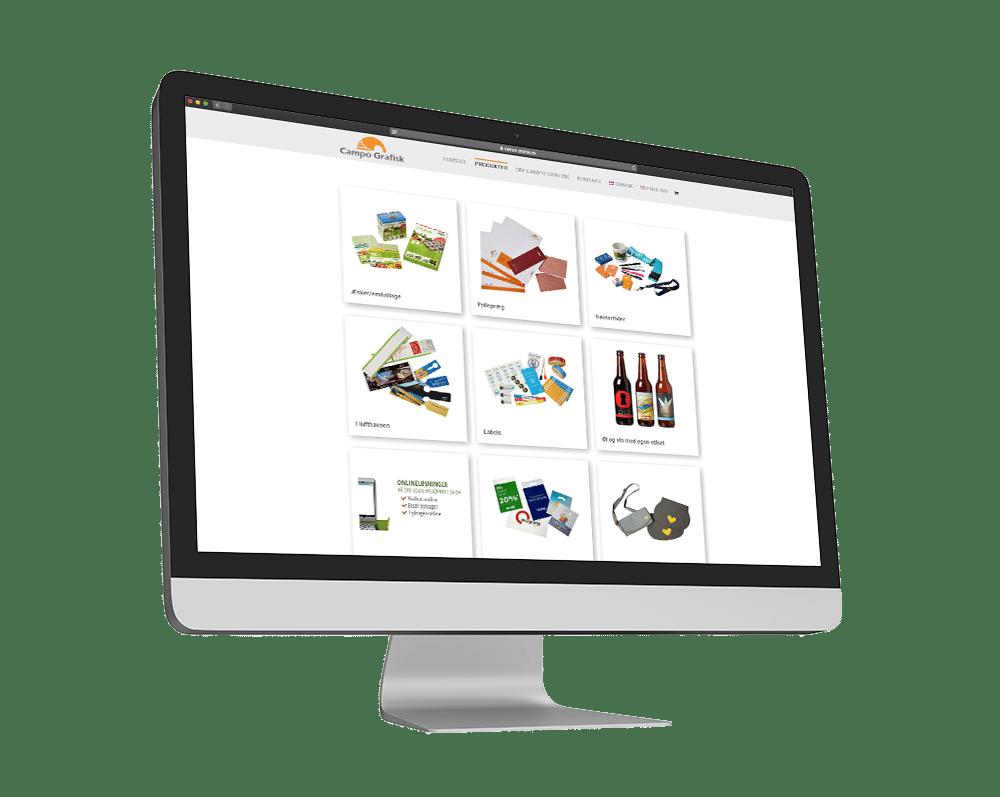 Campo Grafisk Hjemmeside Case SideWalk