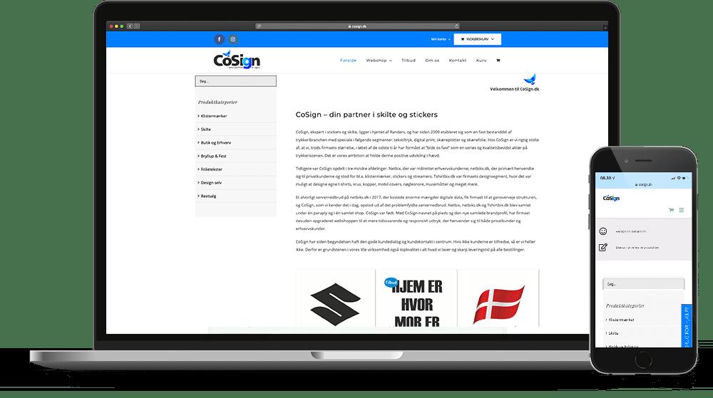 CoSign Webshop Case SideWalk