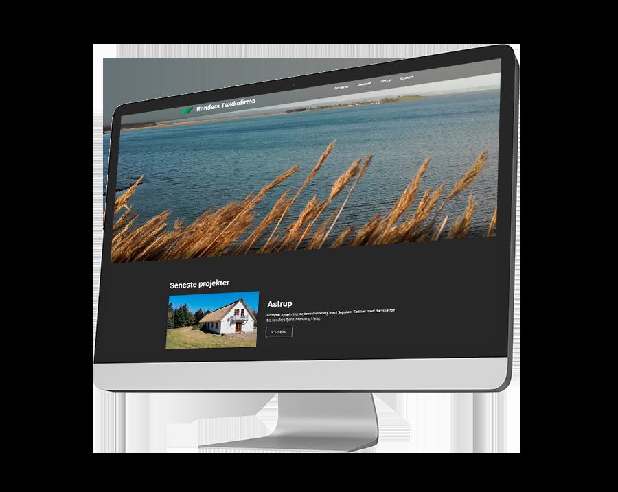 Randers_Tækkefirma_hjemmeside_desktop