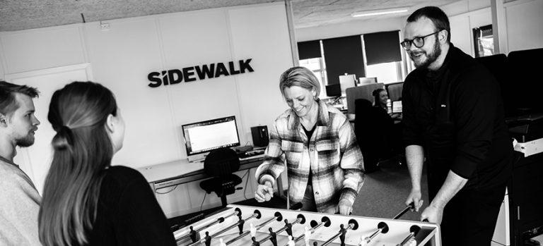 SideWalk E commerce praktikant 880x400px